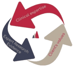 clinical expertise, client values